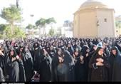 """همایش 3 هزار نفری """"لبیک یا محمد"""" در شهرستان بروجن برگزار شد"""