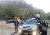 زلزله کرمانشاه|توزیع اقلام غذایی و پتو در روستاهای دورافتاده توسط سپاه + عکس