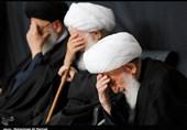 مراسم عزاداری 28 صفر در بیوت مراجع عظام تقلید برگزار شد + تصاویر