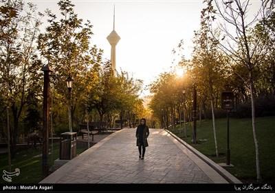 بالصور// الخریف فی طهران