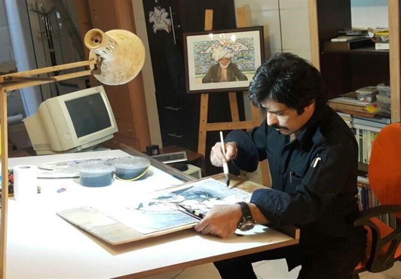 """هنر """"فروختنی"""" نیست؛ایرانیها در نقاشی آبرنگ """"سنتگرا"""" هستند"""