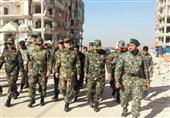 زلزله کرمانشاه|جانشین فرمانده ارتش در مناطق زلزلهزده + عکس