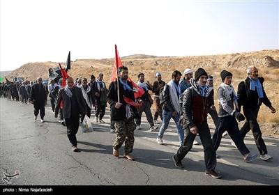 Pilgrims Walk to Shrine of Imam Reza (AS) in Mashhad