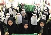 آئین نمادین تشییع پیکر مطهر امام رضا(ع) توسط دانشآموزان رضوی برگزار شد