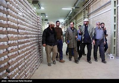 بازدید معاون امور ویژه دفتر مقام معظم رهبری از قرارگاه امام رضایی ها