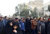 تشیع شهید مدافع حرم 1