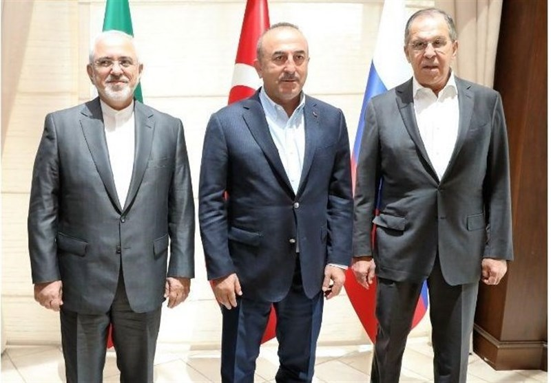 Iranian, Russian, Turkish FMs to Meet in Ankara Wednesday
