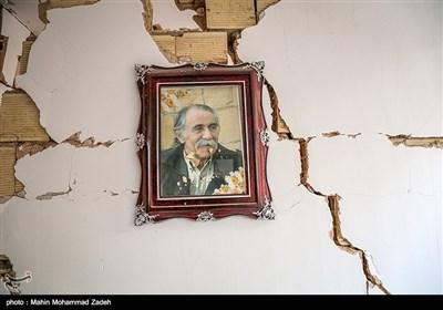"""زلزلے کے 6 روز بعد ایران کا شہر """"سرپل ذھاب"""""""