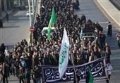 تهران| پیادهروی جاماندگان ارض طوس در دیار 15 خرداد به روایت تصویر