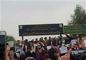 زلزله کرمانشاه | اولین عکس از حضور امام خامنهای در مناطق زلزلهزده غرب