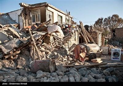 خسارات زلزله به روستاهای کرمانشاه