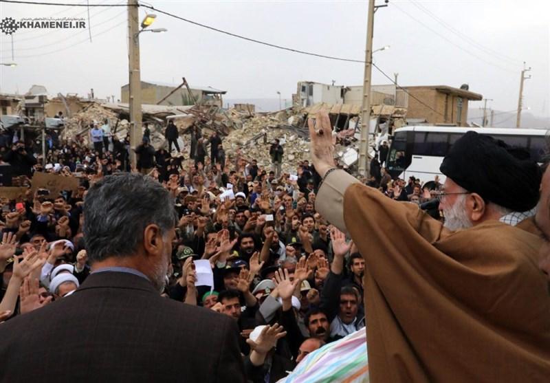 امام خامنهای: ارتش و سپاه در زلزله کرمانشاه کمک نمیکردند، غصه و تلفات ما بیش از این میشد + فیلم