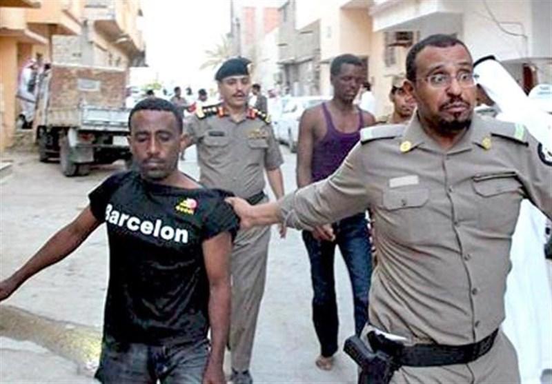 سعودی عرب میں غیر قانونی تارکین وطن کے خلاف کریک ڈاؤن، 24 ہزار افراد گرفتار