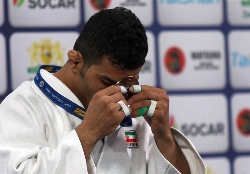 Iran's Mollaei Wins Gold at Dusseldorf Grand Slam