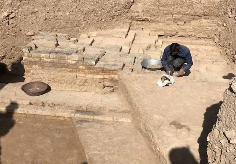 کشف خطوط آجری مزین با نام خدا بهقدمت ۴۷۰۰ سال در ایران