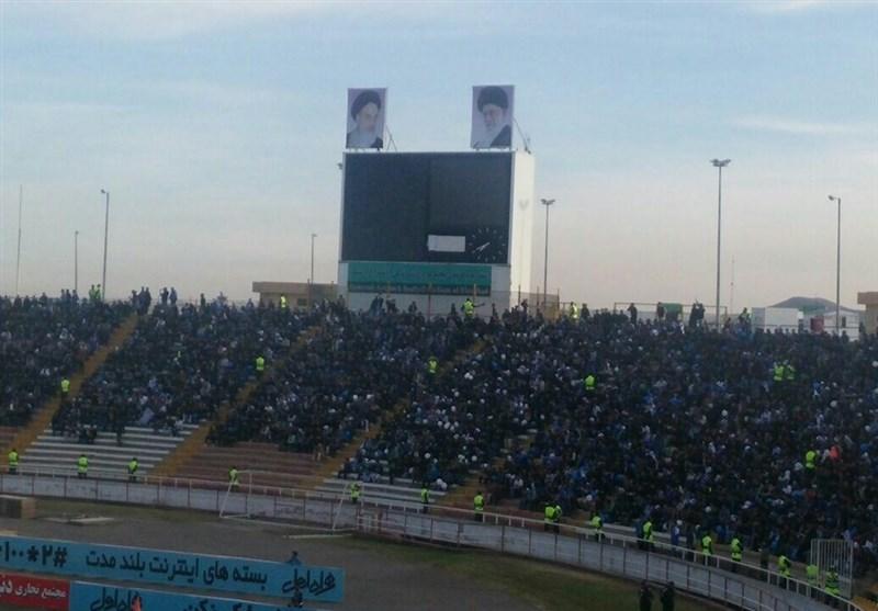 اسکوربورد ورزشگاه ثامن مشهد در تعطیلات نیم فصل نصب میشود