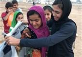 هدیه سهیلا منصوریان به کودکان زلزلهزده