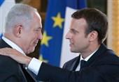 نتانیاهو ماکرون