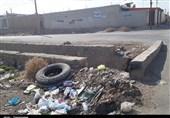 دفع غیربهداشتی فاضلاب در هفتگل