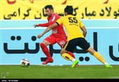 لیگ برتر فوتبال| برتری تراکتورسازی مقابل سپاهان در نیمه نخست
