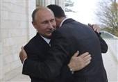 پیام دیدار بشار اسد با پوتین در سوچی به آمریکا