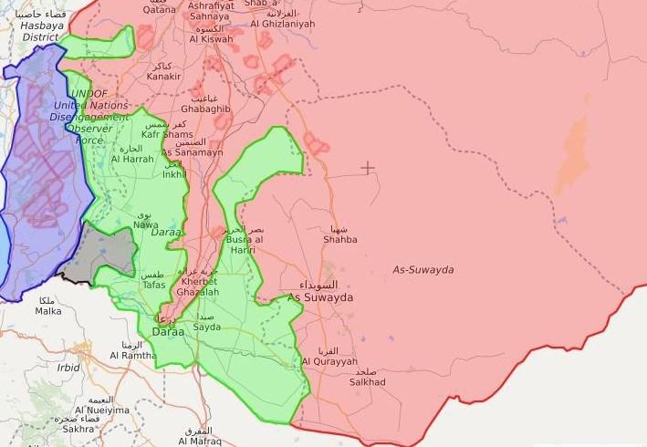 تلاش تروریستها برای ایجاد خودمختاری تحت حمایت آمریکا در جنوب سوریه