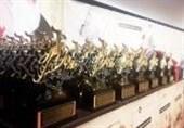 """مراسم اعطای """"جایزه ملی وقف"""" به ۵۴ نخبه کشور برگزار شد"""
