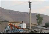 ثبت رکورد بیسابقه در برقدار شدن مناطق زلزلهزده