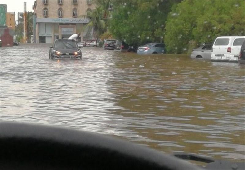 """سعودی شہر """"جدہ"""" ڈوب گیا + تصاویر"""