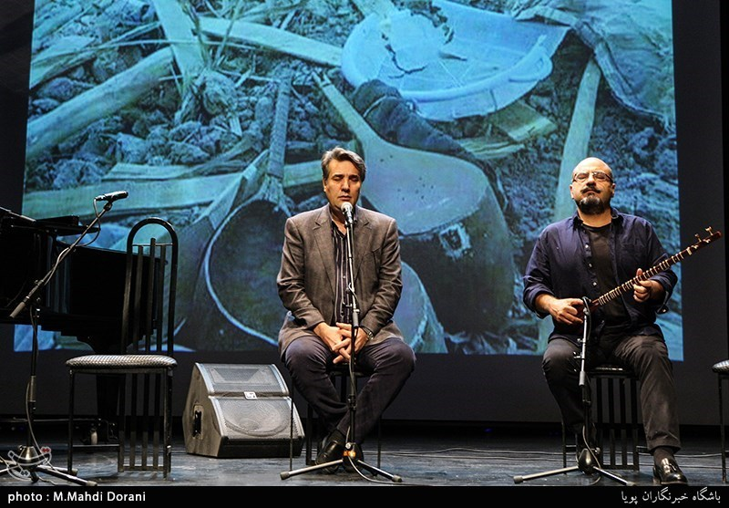گردهمایی هنرمندان موسیقی در حمایت از مردم زلزله زده