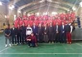 بازدید شاهرخ شهنازی از اردوی تیم ملی بوکس