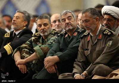 دیدار بسیجیان سراسر کشور با رهبر معظم انقلاب