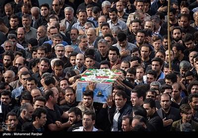 مراسم تشییع دو شهید مدافع حرم - رشت