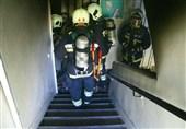 نجات 40 نفر از ساکنان ساختمان 9 طبقه در شهرک اکباتان