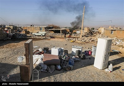 روستاهای زلزله زده کرمانشاه