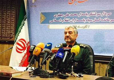 نشست خبری سردار جعفری