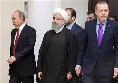 هماهنگی مواضع با اردوغان و روحانی، در نخستین سفر پوتین بعد از انتخابات