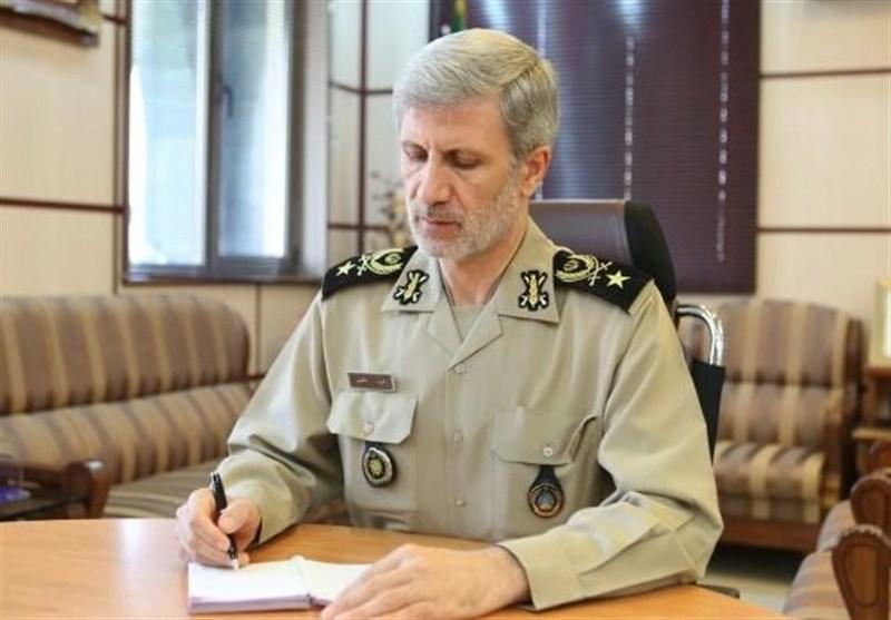 وزیر دفاع: نفوذ معنوی جمهوری اسلامی امید همه آزادیخواهان جهان شده است