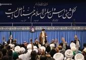 دیدار شرکتکنندگان اجلاس «محبان اهلبیت(ع) و مسئله تکفیریها» با امام خامنهای