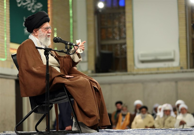Leader Vows Iran's Help in Countering Arrogance