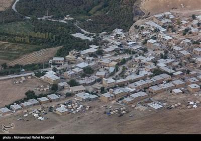 تصاویر هوایی از اسکان زلزلهزدگان کرمانشاه