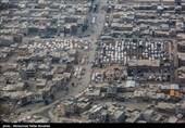 تصاویر هوایی از مناطق زلزله زده