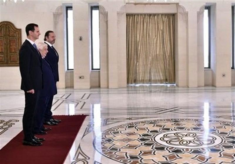 الأسد یتقبل أوراق اعتماد سعد زخیا سفیراً للبنان لدى سوریا