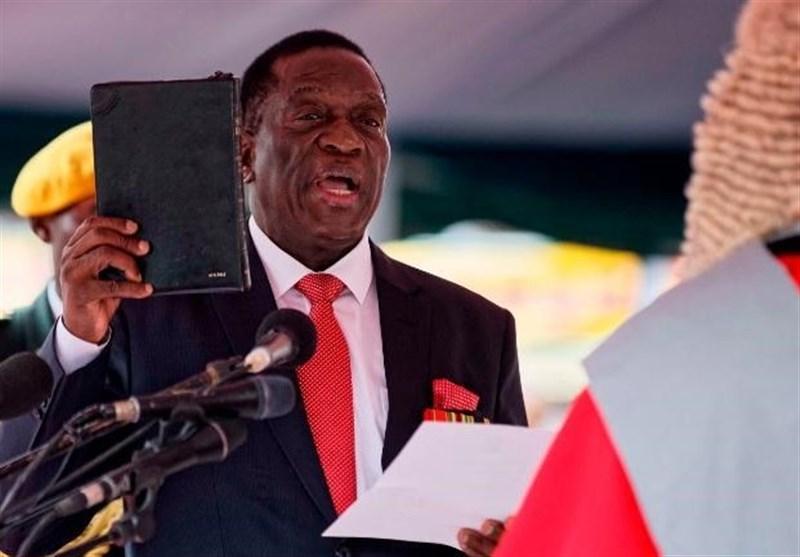 Zimbabwe's Emmerson Mnangagwa Sworn In as President