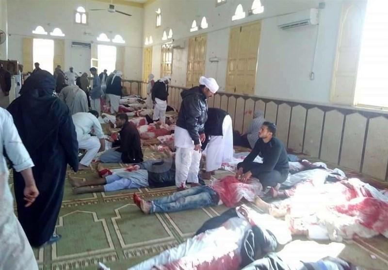 هجوم إرهابی على مسجد شمال سیناء وأنباء عن وقوع عشرات الضحایا