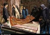 بیرجند|75 هزار مترمربع فرش دستباف خراسان جنوبی صادر شد