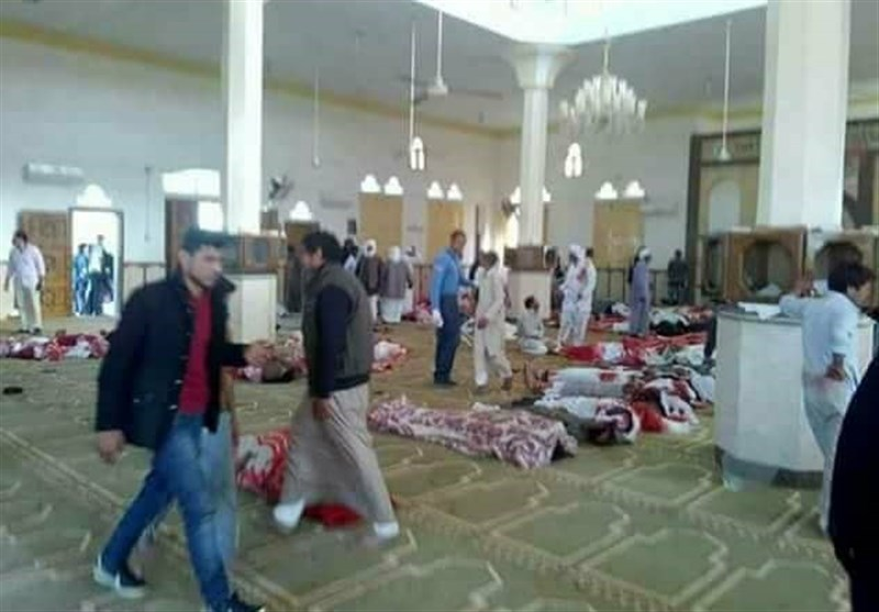 National mourning declared after 235 killed in Egypt mosque attack