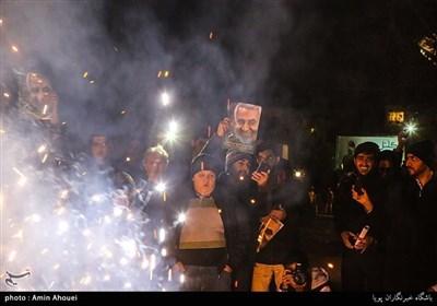 شجرہ خبیثہ کا خاتمہ؛ ایرانی عوام آج پھر جشن منانے سڑکوں پر نکل آئی