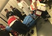 انتقال پورعلی گنجی به بیمارستان و تمجید سرمربی السد از او