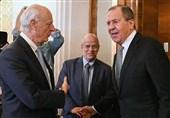 تاکید لاوروف و دیمیستورا بر عدم وجود راه حل نظامی برای بحران سوریه